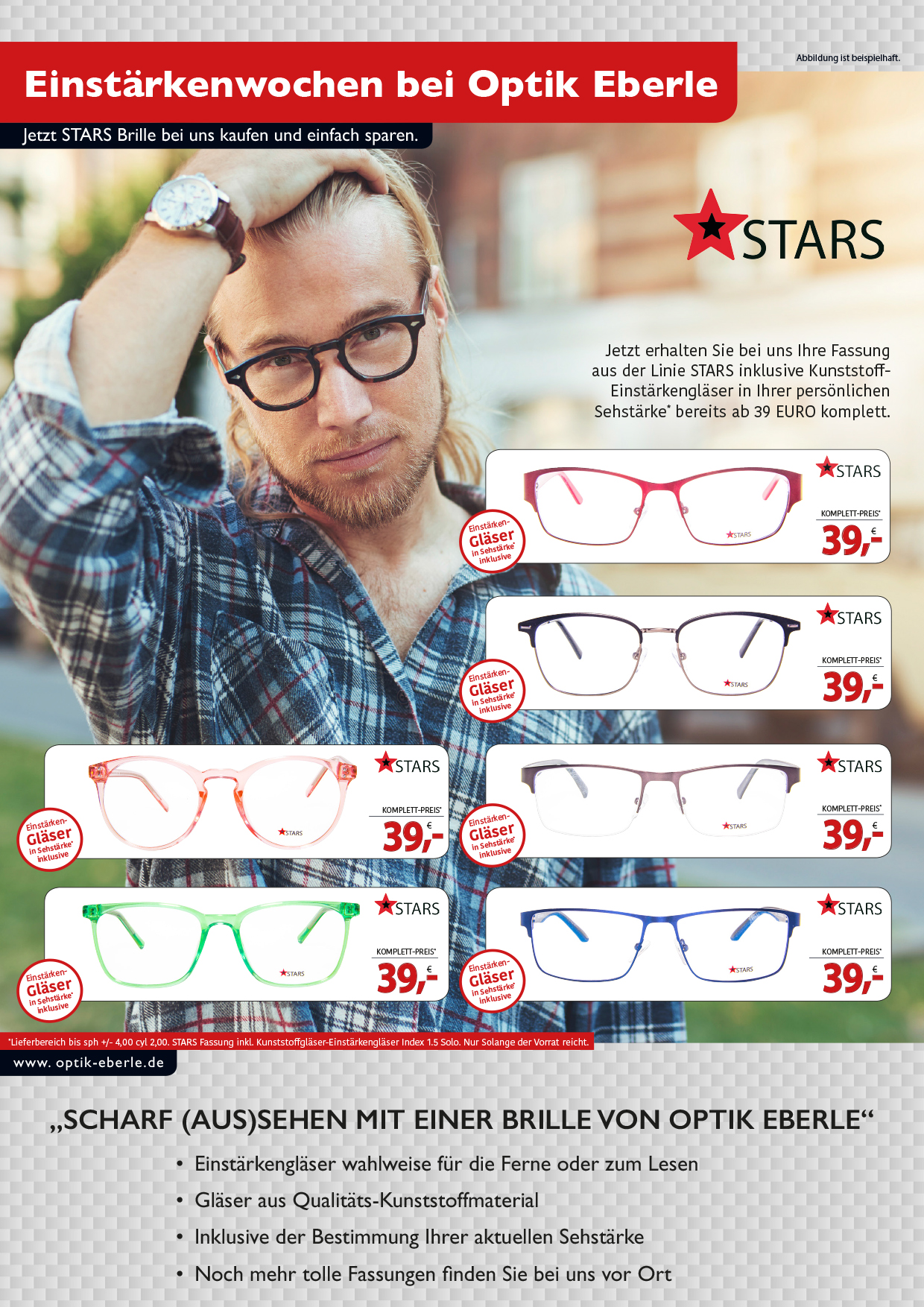 STARS Einstärkenbrillen<br></noscript><img class=